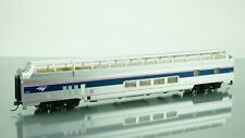 Walthers Amtrak Ph4b Budd Great Dome HO scale