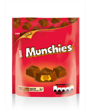 Full Box of 8 Nestle Milk Chocolate Munchies Pouch Bag 104g Free Delivery