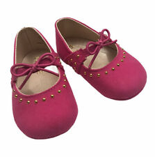 Childrens Place Girls Pink Baby Shoes 3-6 Months
