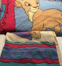 Disney The Lion King Twin Flat Sheet & Pillowcase 2 Pc