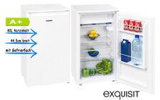 Exquisit KS 86-9 A+ Top Weiß Kühlschrank mit Gefrierfach A+ 44,5cm brei
