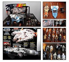 Star Wars Millennium Falcon,Boxed+Collection of Fighters and Figures