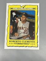 Roberto Clemente 2021 Topps Heritage ⚾️ The Great One GO-16 Pittsburgh Pirates
