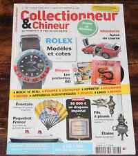 REVUE Collectionneur Chineur n° 193 Rolex Pochettes BD Paquebot France Eventails