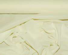 "PONGEE LINING FABRIC PEARL/ IVORY 60"" BRIDAL HOME DECOR COSTUME CLOTHING  BTY"