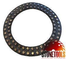 "7"" Vitrified Diamond Polishing / Grinding Ring - METAL DOT"