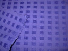 ~3 YDS~MODERN SQUARES~PURPLE PART CHENILLE UPHOLSTERY FABRIC~FABRIC FOR LESS~