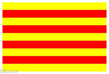 CATALONIA (SPAIN) FLAG 5FT X 3FT