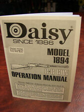 Daisy Model 1894 Operations Manual