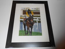 Carl Llewellyn / Nigel Twiston Davies Hand Signed Earth Summit Photo Framed.