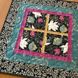 Table Topper Floral Handmade Home Decor