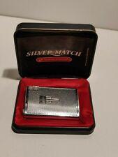 Silver Match Compound et boite - briquet à gaz -