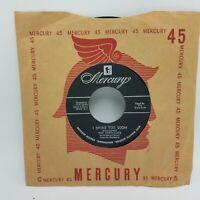 """THE CREW-CUTS: Sh-Boom / I Spoke Too Soon - 45 RPM 7"""" 1954 Mercury - Doo-Wop NM"""