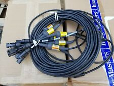 First Solar Panel Cable Harness Connector 4X2 MC4  69ft 10awg Y type T splitter