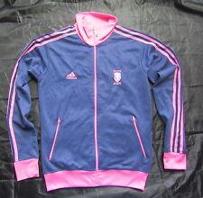 STADE FRANCAIS Paris FRANCE RUGBY zip sweatshirt ADIDAS 2009-2010 adult SIZE  S