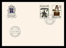 Iceland 1979 FDC, Europa CEPT XX. History Posts and Telecommunications. Lot # 1.