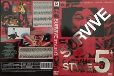 Survive Style 5+ DVD Brand New / Factory Sealed Region 1
