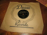 BING CROSBY Rare 78 RPM I WONDER WHAT'S BECOME OF SALLY 1944 Decca 18531 Beauty!