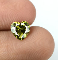 100% Natural Green Tourmaline Loose Gemstone 2.20 Ct Heart Shape AGSL Certified
