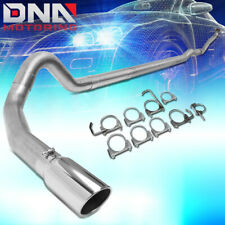 """FOR 1993-2000 CHEVY/GMC C/K 6.5L DIESEL 4""""OD TURBO CATBACK EXHAUST SYSTEM+TIP"""