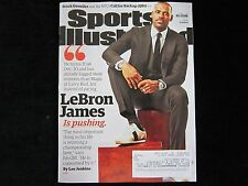 LEBRON JAMES is PUSHING Sports Illustrated CLEVELAND Cavs CAVALIERS 12/7/15