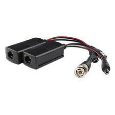 2pc BNC to RJ45 CAT5 HD Video Balun Transmitter and Receiver for CCTV PTZ Camera