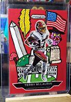 2020 Panini Prizm Terry McLaurin Custom DC SP #1/1 Washington Redskins!