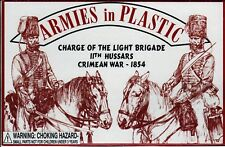 CLOSEOUT! Armies in Plastic Crimean War (1854) British 11th Hussars 1/32 54mm