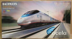 Bachmann Amtrak Acela Express HO Train Set (No track/pwr)