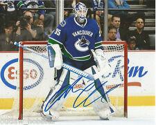 Vancouver Canucks Jacob Markstrom Signed Autographed 8x10 Photo COA B