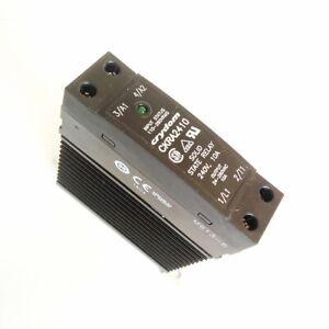 CKRD2410 Relè a stato solido monofase CKR SPST-NO 10A 280V guida DIN Crydom
