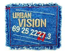 Jeans-Applikation zum Aufbügeln Bügelbild 1-440  Urban Vision