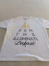 Bakare Run The Illuminati T-Shirt XXL White