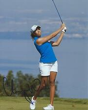 Cheyenne Woods Signed 8×10 Photo LPGA Autographed COA C