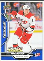 2018-19 Upper Deck Compendium Series 2 BLUE ROOKIE RC Saku Maenalanen