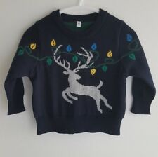 M&S Baby Boys Girls 100% Cotton Christmas Stag Jumper__3-6 Months / EUR 69 BNWOT