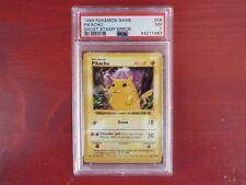 1999 Pokemon 1st edition Pikachu Base Set Ghost Stamp Error - PSA 7 PSA POP 7