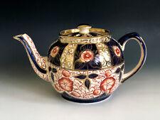 Vintage England Sadler Teapot Gaudy Welsh Imari Oriental Style #3759/2