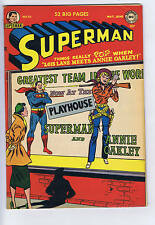 Superman #70 DC 1951 Annie Oakley cover/story