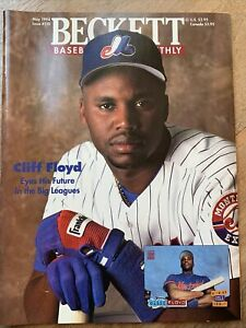 Beckett Baseball Card Monthly Magazine May 1994 Issue #110