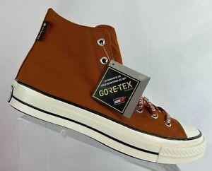Converse Mens Chuck 70 Hi Gore-Tex 168858C Amber Sepia/Egret/Black Multi Sizes
