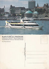 GERMAN RIVER CRUISE SHIP MS SOLAR AN UNUSED COVER POSTCARD