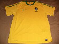Brazil Brasil nike 2010 -2011 home shirt size XXL 2XL jersey trikot camiseta
