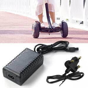 42V 2A Ladegerät Adapter Stromkabel für Hoverboard Smart Balance Scooter Faddi
