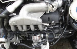 🇩🇪 MOTOR AXD 2.5 TDI VW TRANSPORTER T5 130PS 61Tkm UNKOMPLETT ENGINE MOTEUR