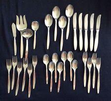 International moonspun stainless mixed lot of 30 pieces