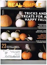 Real Simple October 2016  23 Spooky + Simple Halloween Ideas - FREE SHIPPING