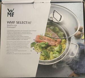 WMF Select it! Multipot Schmorpfanne Dampfgarer 28 cm