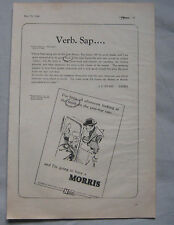 1946 Morris Original advert No.4