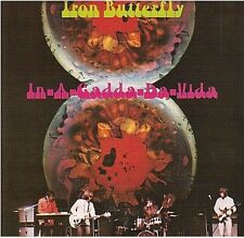 IRON BUTTERFLY in a gadda da vida CD ALBUM my mirage are you happy termination